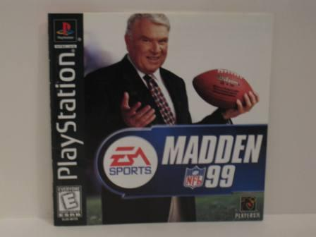 Madden NFL 99 - PS1 Manual