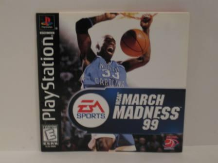 NCAA March Madness 99 - PS1 Manual