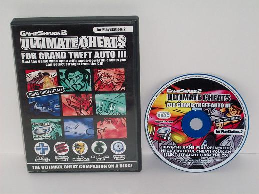 GameShark 2 Cheats for Grand Theft Auto III - PS2 Accessory