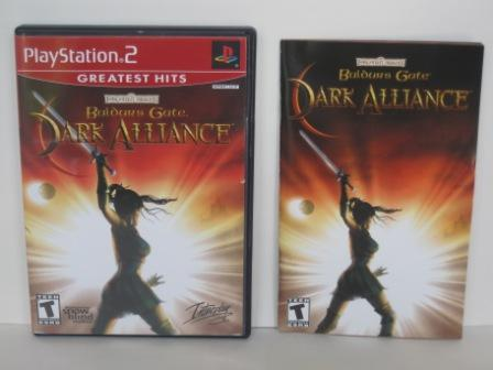Baldurs Gate: Dark Alliance (CASE & MANUAL ONLY) - PS2