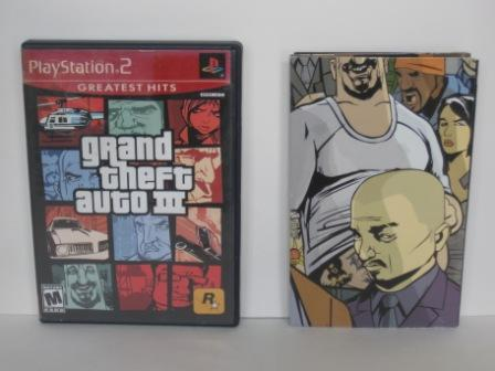 Grand Theft Auto III (CASE & MANUAL ONLY) - PS2