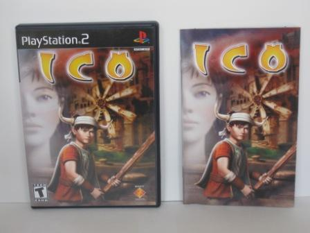 ICO (CASE & MANUAL ONLY) - PS2