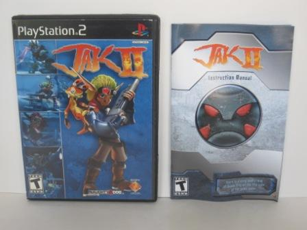 Jak II (CASE & MANUAL ONLY) - PS2