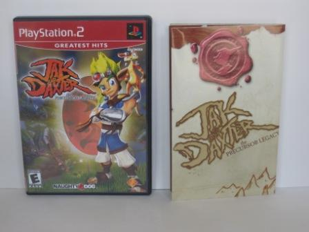 Jak and Daxter: The Precursor Legacy (CASE & MANUAL ONLY) - PS2