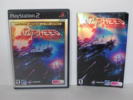 Silpheed: The Lost Planet (CASE & MANUAL ONLY) - PS2