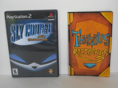 Sly Cooper and the Thievius Raccoonus (CASE & MANUAL ONLY) - PS2