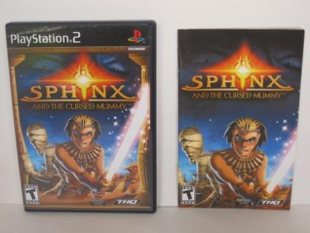Sphinx and the Cursed Mummy (CASE & MANUAL ONLY) - PS2