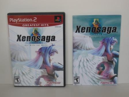 Xenosaga Episode I: Der Wille zur... (CASE & MANUAL ONLY) - PS2