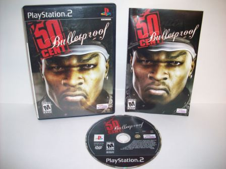 50 Cent: Bulletproof - PS2 Game