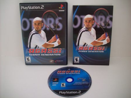 Agassi Tennis Generation - PS2 Game