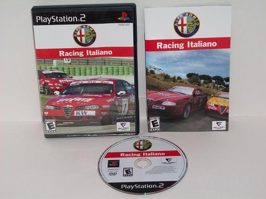 Alfa Romeo Racing Italiano - PS2 Game