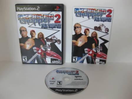 American Chopper 2: Full Throttle - PS2 Game