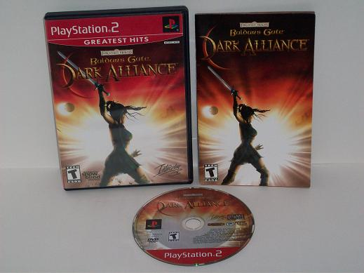 Baldurs Gate: Dark Alliance - PS2 Game