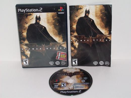 Batman Begins - PS2 Game