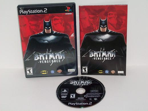 Batman Vengeance - PS2 Game