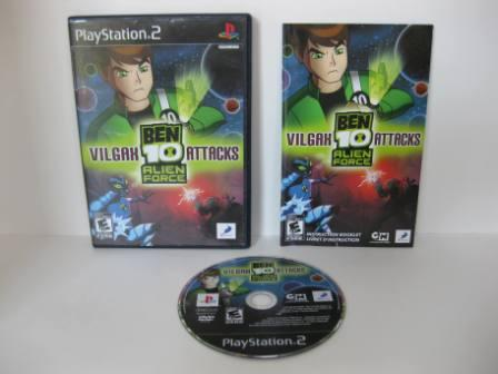 Ben 10: Alien Force Vilgax Attacks - PS2 Game