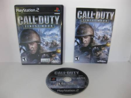 Call of Duty: Finest Hour - PS2 Game
