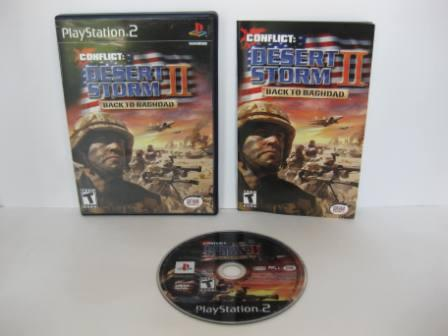 Conflict: Desert Storm II - Back to Baghdad - PS2 Game
