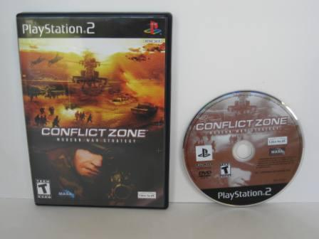 Conflict Zone: Modern War Strategy - PS2 Game