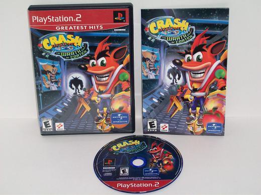 Crash Bandicoot: The Wrath of Cortex - PS2 Game, Just Go Vintage