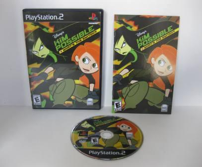 Disneys Kim Possible: Whats the Switch? - PS2 Game