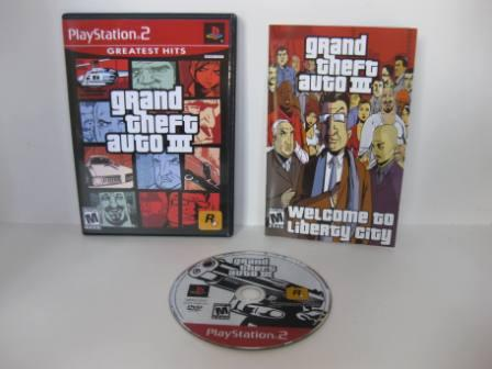 Grand Theft Auto III (CIB) - PS2 Game