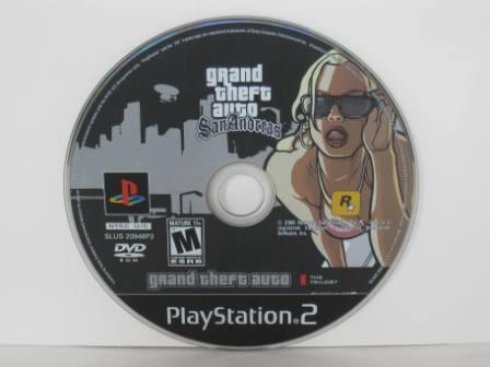 Grand Theft Auto: San Andreas The Trilogy (DISC ONLY) - PS2 Game