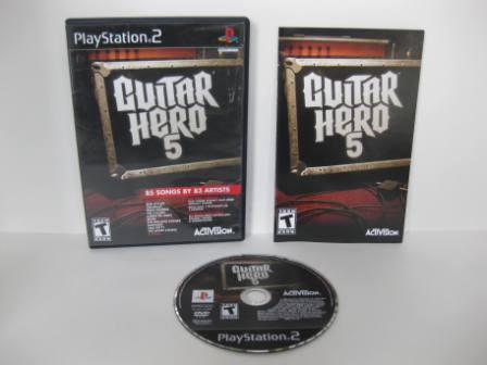 Guitar Hero 5 - PS2 Game