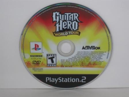 Guitar Hero World Tour (DISC ONLY) - PS2 Game