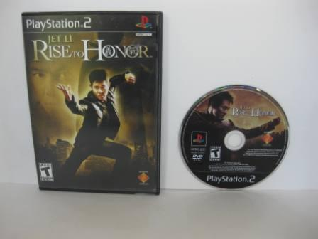 Jet Li Rise to Honor - PS2 Game