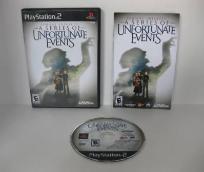 Lemony Snickets: A Series of Unfortunate Events - PS2 Game