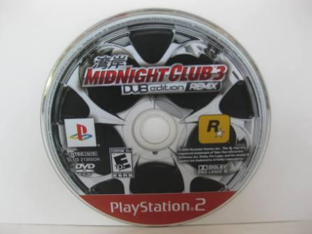 Midnight Club 3: DUB Edition Remix (DISC ONLY) - PS2 Game