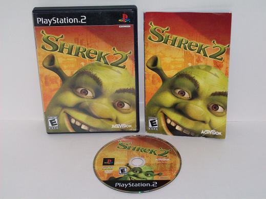 Shrek 2 Ps2 Game Just Go Vintage