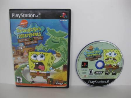 SpongeBob SquarePants: Revenge of the Flying Dutchman - PS2 Game