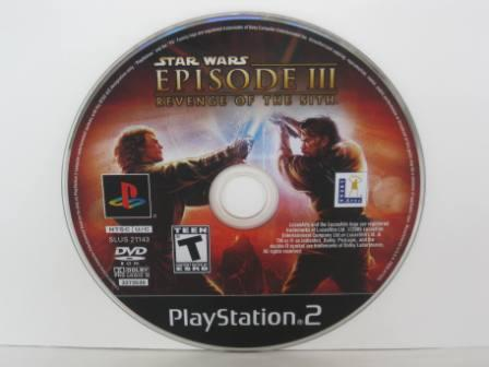 Star Wars Episode III Revenge of the Sith (DISC ONLY) - PS2 Game