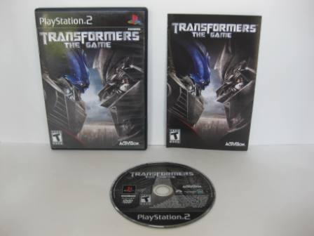 Transformers: The Game - PS2 Game
