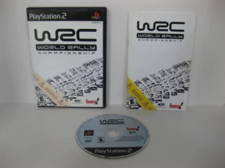 WRC World Rally Championship - PS2 Game