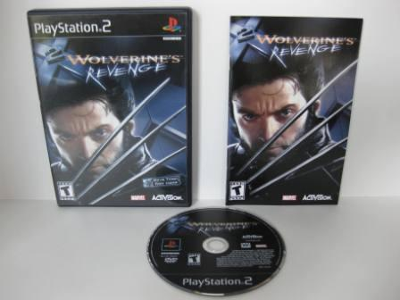 X2: Wolverines Revenge - PS2 Game