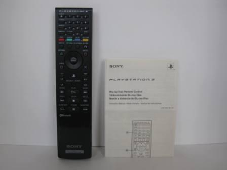 Sony OEM BD Remote Control CECHZR1U w/ Manual - PS3 Accessory