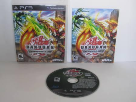 Bakugan: Defenders of the Core - PS3 Game
