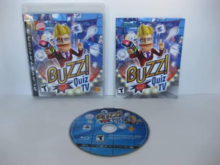 Buzz! Quiz TV - PS3 Game