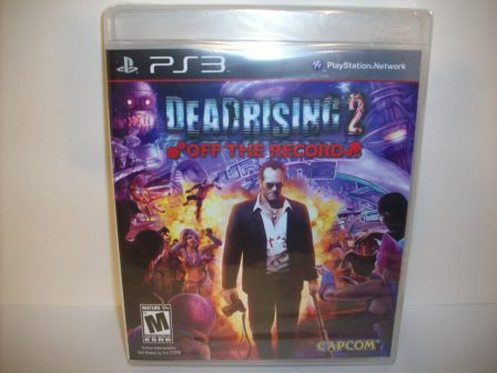 Dead Rising 2: Off the Record (SEALED) - PS3 Game