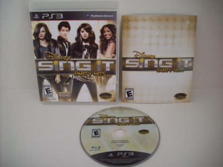 Disney Sing It: Party Hits - PS3 Game