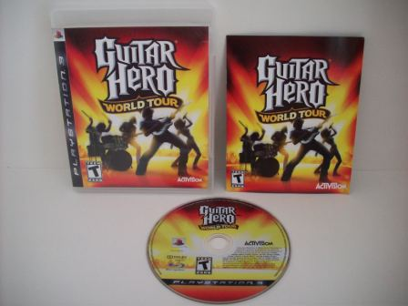 Guitar Hero: World Tour - PS3 Game