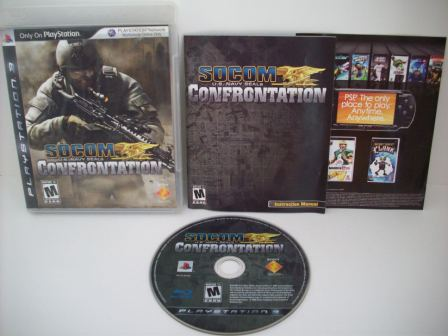 SOCOM: U.S. Navy SEALs Confrontation - PS3 Game