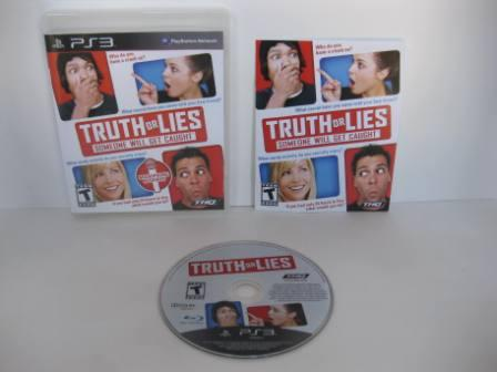 Truth or Lies - PS3 Game