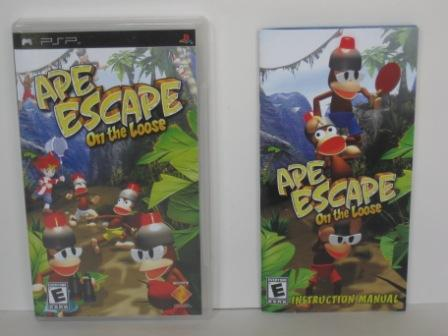 Ape Escape: On The Loose (CASE & MANUAL ONLY) - PSP