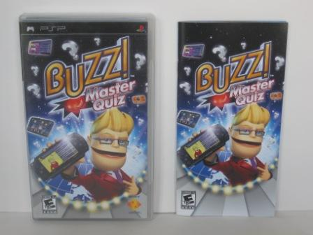 Buzz! Master Quiz (CASE & MANUAL ONLY) - PSP