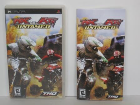 MX vs. ATV: Untamed (CASE & MANUAL ONLY) - PSP