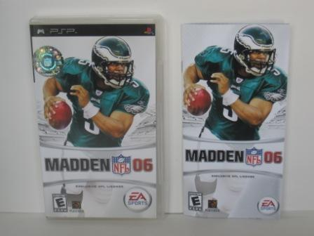 Madden NFL 06 (CASE & MANUAL ONLY) - PSP